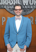 LOS ANGELES, CA - JUNE 12: Michael Giacchino, at Jurassic World: Fallen Kingdom Premiere at Walt Disney Concert Hall, Los Angeles Music Center in Los Angeles, California on June 12, 2018. <br /> CAP/MPIFS<br /> &copy;MPIFS/Capital Pictures
