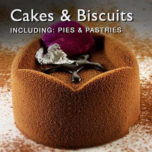Food Pictures & images of cakes & biscuits including pastries & pies