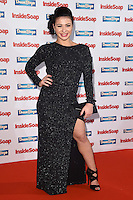 Claudia Fragapane<br /> at the Inside Soap Awards 2016 held at the Hippodrome Leicester Square, London.<br /> <br /> <br /> ©Ash Knotek  D3157  03/10/2016