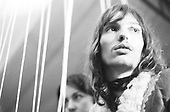 PINK FLOYD - Richard Wright - Paris France - 1970.  Photo credit: Magdalinski/Dalle/IconicPix **AVAILABLE FOR UK ONLY**