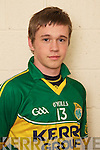 Chris Brady member of the Kerry U-21 panel 2012