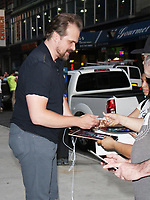 NEW YORK, NY - AUGUST 10: David Harbour arriving to the Screen Actors Guild screening of Stranger Things at the Robin Williams Theatre in New York City on August 10, 2017. Credit: RW/MediaPunch