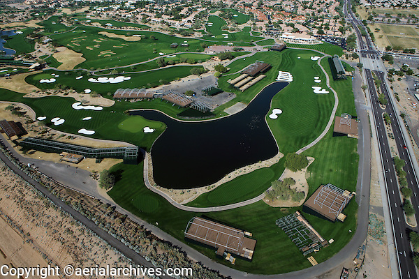 aerial photograph of TOC Players Club, TCP, Phoenix, Arizona