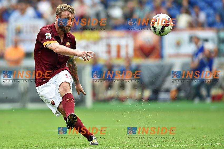 Daniele De Rossi Roma <br /> Roma 21-09-2014 Stadio Olimpico, Football Calcio Serie A AS Roma - Cagliari. Foto Andrea Staccioli / Insidefoto