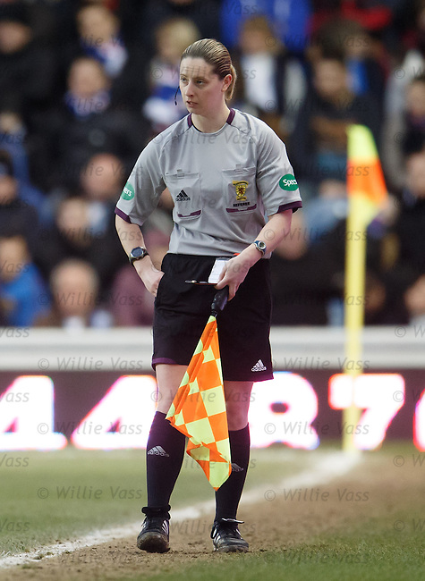 Assistant referee Lorraine Clark writes in her book after a foul