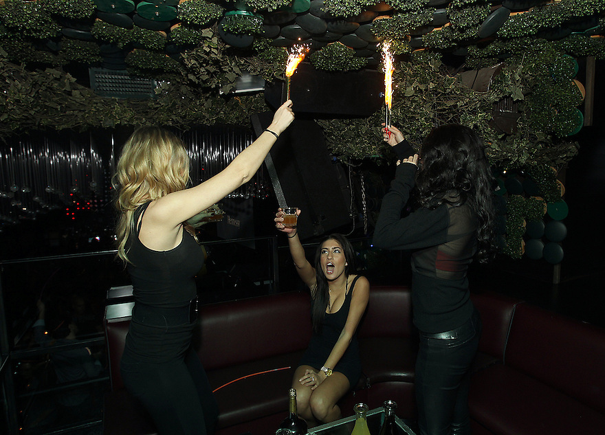 Images from the Hennessy Remixed party at GreenHouse in New York City on Wednesday, November 16, 2011. (Soul Brother for Hennessy).Images are for internal use only...