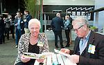 AMERSFOORT - Mirjam  Huisken  . Nationaal Golf Congres & Beurs (Het Juiste Spoor) van de NVG.     © Koen Suyk.