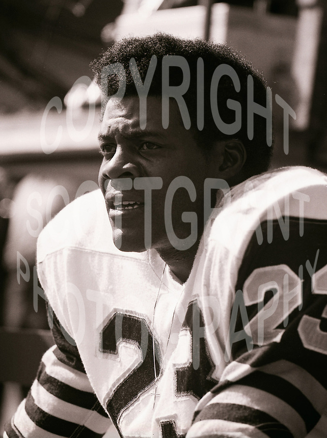 John Williams HamiltonTiger Cats 1972. Copyright photograph Scott Grant