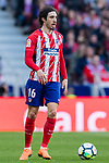 Sime Vrsaljko of Atletico de Madrid in action during the La Liga 2017-18 match between Atletico de Madrid and Athletic de Bilbao at Wanda Metropolitano  on February 18 2018 in Madrid, Spain. Photo by Diego Souto / Power Sport Images