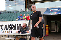 Cary, North Carolina  - Saturday June 17, 2017: Sean Nahas prior to a regular season National Women's Soccer League (NWSL) match between the North Carolina Courage and the Boston Breakers at Sahlen's Stadium at WakeMed Soccer Park. The Courage won the game 3-1.