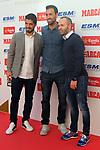 Lionel Messi Bota de Oro 2016/2017.<br /> Luis Suarez, Sergio Busquets &amp; Andres Iniesta.