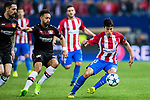 Nicolas Gaitan of Atletico de Madrid in action during their 2016-17 UEFA Champions League Round of 16 second leg match between Atletico de Madrid and Bayer 04 Leverkusen at the Estadio Vicente Calderon on 15 March 2017 in Madrid, Spain. Photo by Diego Gonzalez Souto / Power Sport Images