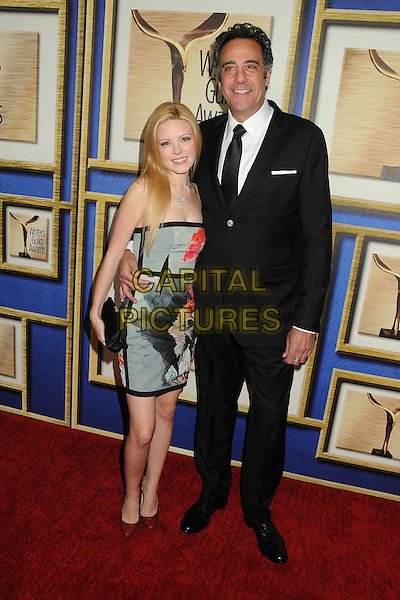 1 February 2014 - Los Angeles, California - Isabella Quella, Brad Garrett. 2014 Writers Guild Awards West Coast held at the JW Marriott Hotel.  <br /> CAP/ADM/BP<br /> &copy;Byron Purvis/AdMedia/Capital Pictures