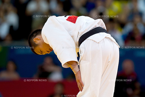 Masashi Ebinuma (JPN), .JULY 29, 2012 - Judo : .Men's -66kg at ExCeL during the London 2012 Olympic Games in London, UK.  . (Photo by Enrico Calderoni/AFLO SPORT)