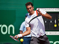11-07-13, Netherlands, Scheveningen,  Mets, Tennis, Sport1 Open, day four,Leonardo Kirche (BRA)<br /> <br /> <br /> Photo: Henk Koster