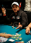 "Team PokerStars  PRO Australia Tony Hachem is all in and then reacts to getting ""sucked out"" on by his opponent on the river."