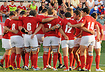 August 13, 2011:  Team Canada prior to the pre World Cup test match between Canada and USA's national teams at Infinity Park, Glendale, Colorado.  Canada defeated USA 27-7.     .. ...