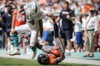 MIAMI, FL, 14.10.2018 – MIAMI DOLPHINS-CHICAGO BEARS – Jogador Taylor Gabriel do Chicago Bears, durante partida válida pela semana 6 da temporada regular da NFL, no Hard Rock Stadium, na tarde deste sábado (14).(Foto: Jayson Braga / Brazil Photo Press)