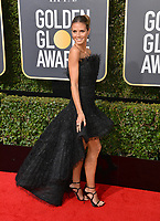 Heidi Klum at the 75th Annual Golden Globe Awards at the Beverly Hilton Hotel, Beverly Hills, USA 07 Jan. 2018<br /> Picture: Paul Smith/Featureflash/SilverHub 0208 004 5359 sales@silverhubmedia.com