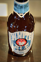 The company's most popular beer, Hitachino Nest Beer, Ibaragi, Japan, February 28, 2010.
