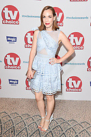 Laura Main<br /> arriving for the TV Choice Awards 2017 at The Dorchester Hotel, London. <br /> <br /> <br /> ©Ash Knotek  D3303  04/09/2017