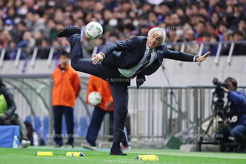 Vahid Halilhodzic (JPN), MARCH 29, 2016 - Football / Soccer : FIFA World Cup Russia 2018 Asian Qualifier Second Round Group E match between Japan 5-0 Syria at Saitama Stadium 2002 in Saitama, Japan. (Photo by Yohei Osada/AFLO SPORT)