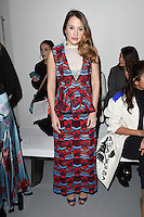 Rosie Fortescue<br /> at the Teatum Jones AW17 show as part of London Fashion Week AW17 at 180 Strand, London.<br /> <br /> <br /> &copy;Ash Knotek  D3230  17/02/2017