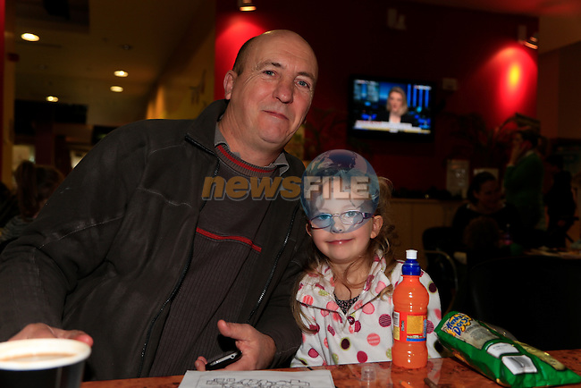 Mark and Eve Taylor at the Mumstown coffee morning.<br /> Picture: Fran Caffrey www.newsfile.ie