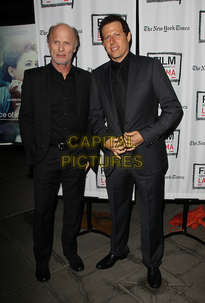 3 March 2014 - Los Angeles, California - Ed Harris, Arie Posin. &ldquo;THE FACE OF LOVE&rdquo; Premiere Screening Held at LACMA. <br /> CAP/ADM/FS<br /> &copy;Faye Sadou/AdMedia/Capital Pictures