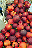 Fresh Fruit, Peaches, Produce, Farmers Market, Farm-fresh produce, fruits,