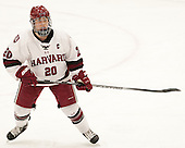 Michelle Picard (Harvard - 20) - The visiting Boston College Eagles defeated the Harvard University Crimson 2-0 on Tuesday, January 19, 2016, at Bright-Landry Hockey Center in Boston, Massachusetts.