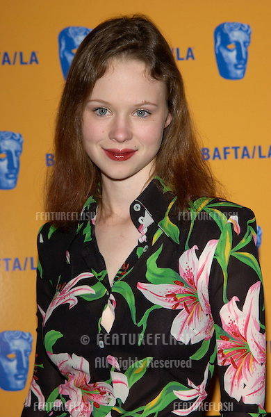 Actress THORA BIRCH at the 11th Annual BAFTA/LA Britannia Awards at the Beverly Hills Hilton..12APR2002.  © Paul Smith / Featureflash