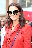 Katie Holmes At Milan Fashion Week