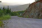 On the road to Solomon's Dome, Dawsan City, The Yukon Territory, Canada