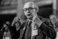 Bill Keys, general secretary, SOGAT, print union, UK, addresses Labour Party Conference, September, 1982, 198209000185<br /><br />Copyright Image from Victor Patterson, 54 Dorchester Park, <br />Belfast, UK, BT9 6RJ<br /><br />t1: +44 28 9066 1296 (from Rep of Ireland 048 9066 1296)<br />t2: +44 28 9002 2446 (from Rep of Ireland 048 9002 2446)<br />m: +44 7802 353836<br /><br />victorpatterson@me.com<br />www.victorpatterson.com<br /><br />Please see my Terms and Conditions of Use at VICTORPATTERSON.COM. It is IMPORTANT that you familiarise yourself with them.<br /><br />Images used on the Internet must be visibly watermarked i.e. &copy;VICTORPATTERSON.COM within the body of the image and copyright metadata must not be deleted. Images used on the Internet have a size restriction of 4kbs and are chargeable at the then current NUJ rates.<br /><br />This image is only available for the use of the download recipient i.e. television station, newspaper, magazine, book publisher, etc, and must not be passed on to any third party. It is also downloaded on condition that each and every usage is notified within 7 days to victorpatterson@me.com<br /><br />The right of Victor Patterson to be identified as the author is asserted in accordance with The Copyright Designs And Patents Act (1988).