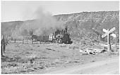 K-27 #461 approaches 1st crossing close to Ridgway.<br /> RGS  Ridgway, CO  Taken by Richardson, Robert W. - 9/13/1946