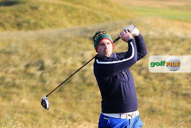 Thomas O'Connor (Athlone) on the 2nd tee during Matchplay Round 1 of the South of Ireland Amateur Open Championship at LaHinch Golf Club on Friday 24th July 2015.<br /> Picture:  Golffile | Thos Caffrey