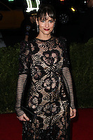 """NEW YORK CITY, NY, USA - MAY 05: Amanda Peet at the """"Charles James: Beyond Fashion"""" Costume Institute Gala held at the Metropolitan Museum of Art on May 5, 2014 in New York City, New York, United States. (Photo by Xavier Collin/Celebrity Monitor)"""