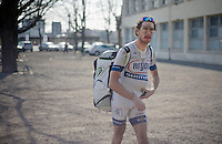 111th Paris-Roubaix 2013..Roy Curvers  (NLD) on his way to the Roubaix showers