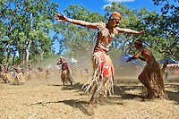 Lockhart River Dancers 3,  Laura Aboriginal Dance Festival, Laura, Cape York Peninsula, Queensland, Australia.