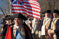 Revolutionary War Reenactors, George Washington & the Continental Army, Washington Crossing State Park, New Jersey
