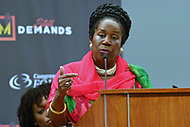 Washington, DC - September 12, 2018: U.S. Representative Sheila Jackson Lee speaks during a panel discussion at the Congressional Black Caucus Foundation's annual Legislative Conference September 12, 2018.  (Photo by Don Baxter/Media Images International)
