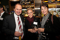 Mike Ward and Beth Mather of Gateley with Karen Dinsmore (right) of Simply Cartons