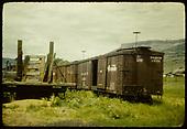 Box car #3551.<br /> D&amp;RGW