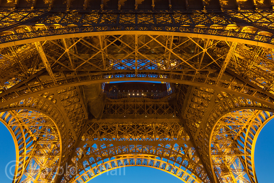 The Eiffel Tower was erected in 1889 as the entrance arch to the 1889 World's Fair.  As is so common with great works of art, such as the statue David, Picasso Sculpture in Chicago and all the great impressionist painters, the Eiffel Tower was initially greatly criticized.  When built it was the tallest man made structure in the world, a title it held for 41 years until the New York City Chrysler Building was erected in 1930.