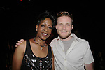 Monica Bailey and JohnnyMac at Big Brother 19 premiere on June 28, 2017 at Slate, New York City, New York. (Photo by Sue Coflin/Max Photos)