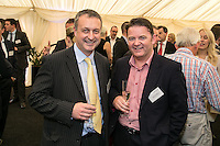 Richard Altoft of Handelsbanken and Christopher Meldrum of Aldermore Bank