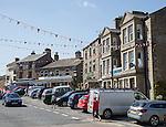 Village of Hawes, Yorkshire Dales national park, England, UK
