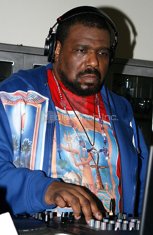 Afrika Bambaataa at the JSM Post Holiday Party at JSM studio in New York City on January 17, 2007. Walik Goshorn / MediaPunch