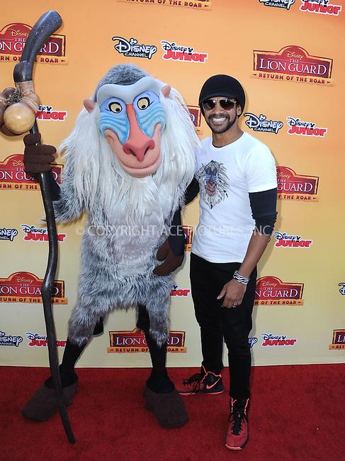 WWW.ACEPIXS.COM<br /> <br /> November 14 2015, LA<br /> <br /> Khary Payton arriving at the premiere of Disney Channel's 'The Lion Guard: Return Of The Roar' at Walt Disney Studios on November 14, 2015 in Burbank, California.<br /> <br /> <br /> By Line: Peter West/ACE Pictures<br /> <br /> <br /> ACE Pictures, Inc.<br /> tel: 646 769 0430<br /> Email: info@acepixs.com<br /> www.acepixs.com